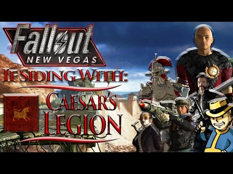 Fallout: New Vegas - Bonus Walkthrough - If Siding With: Caesar's Legion + All Legion Quests