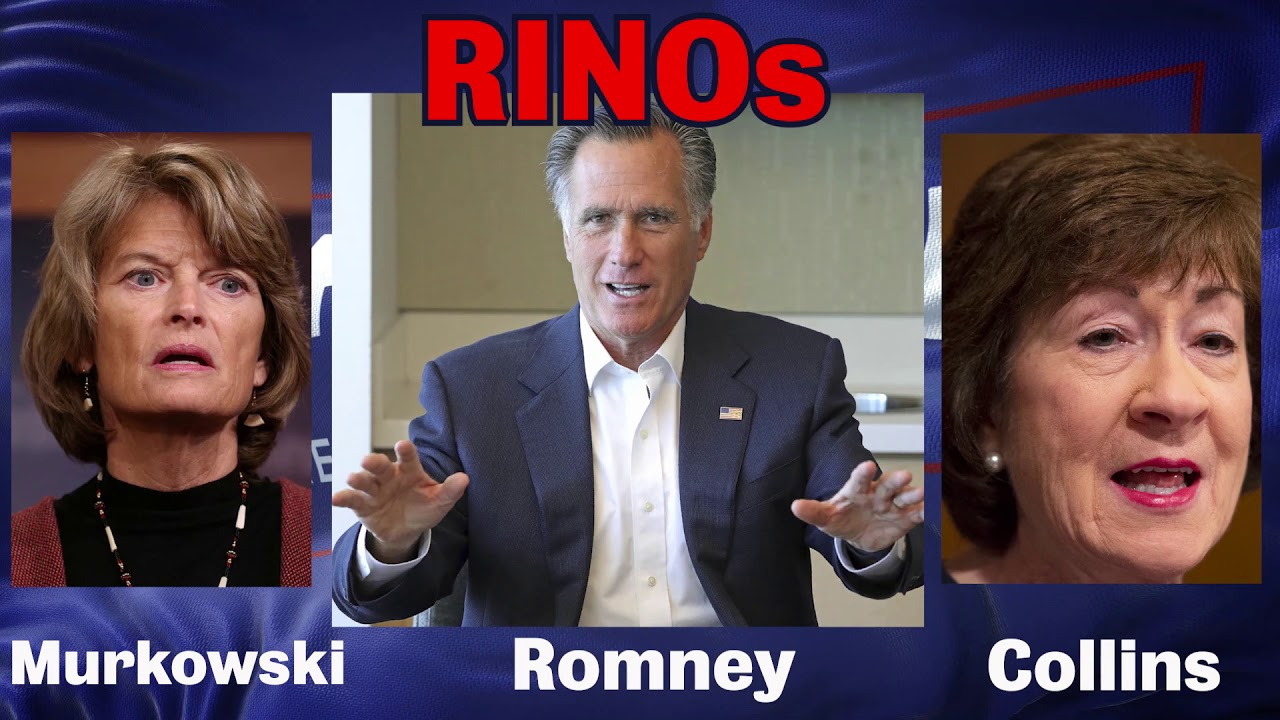 What Does RINO Mean? Trump Labels Mitt Romney After Senator's ...