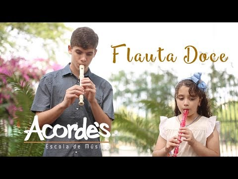Aquarela - Flauta Doce Cover Acorde's