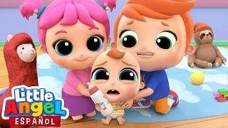 ¡Mami, Nosotros Cuidaremos a Bebé Juan!   Canciones Infantiles   Little Angel en Español