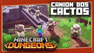 MINECRAFT DUNGEONS #5 - Cânion dos Cactos | Gameplay em Português PT-BR com BRKsEDU
