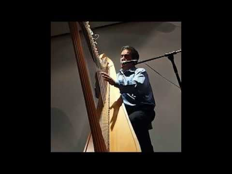 """Hokkien Worship Song """"Hold my hand (牵我的手)"""" played on a harp"""