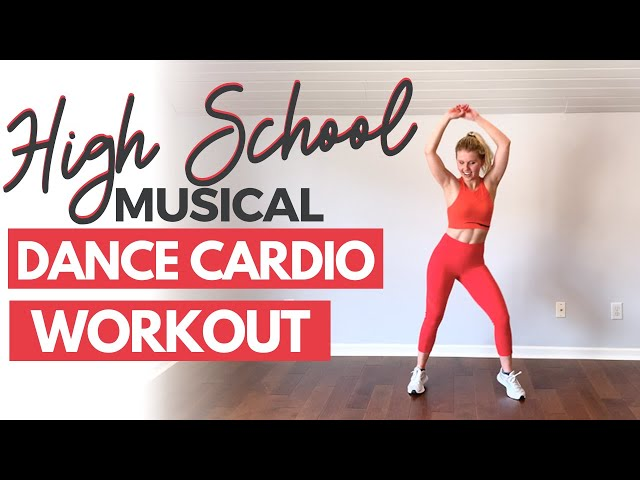 High School Musical Cardio Dance Fitness Workout At Home