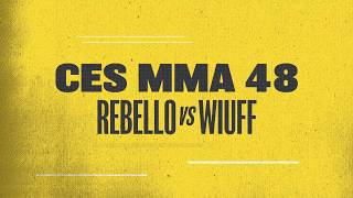Greg Rebello & Travis Wiuff Battle For the Heavyweight Title at CES 48 | February 8th on AXS TV