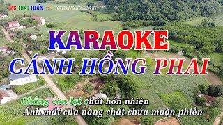 Cánh Hồng Phai(DJ REMIX cực mạnh) - Karaoke Nhạc Sống | Karaoke Chất lượng cao - 4K Ultra HD