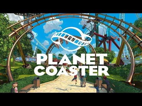 [Запись стрима] Planet Coaster - Маленький парк ужасов :D