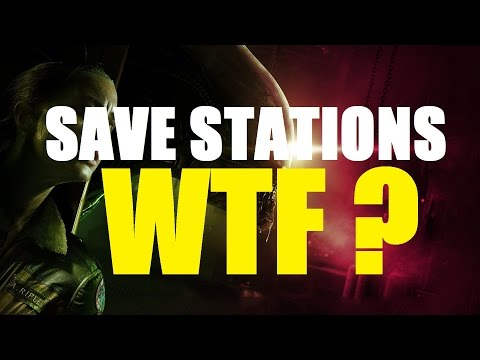 ALIEN ISOLATION : SAVE STATIONS! WTF? (Rant)