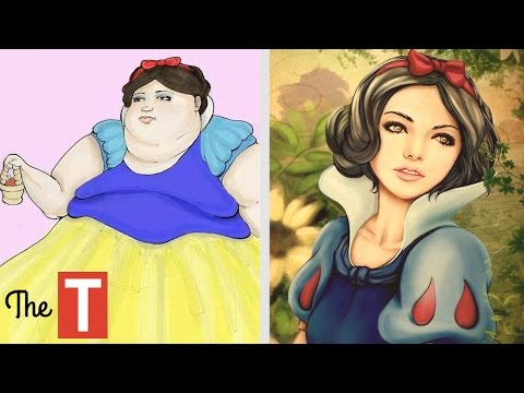 Thumbnail: The Amazing Evolution Of The Disney Princess
