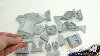 40k Unboxing Space Marine Legion Basilisk Forge World