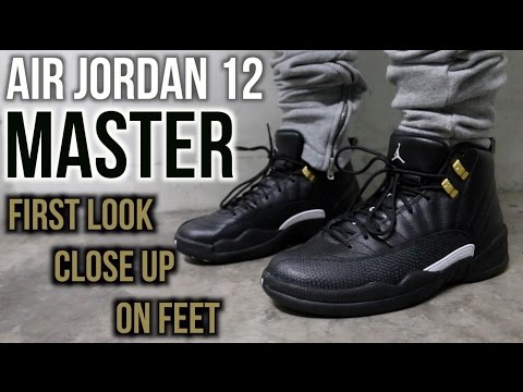 timeless design 285ba e5273 Air Jordan 12 Master On Feet