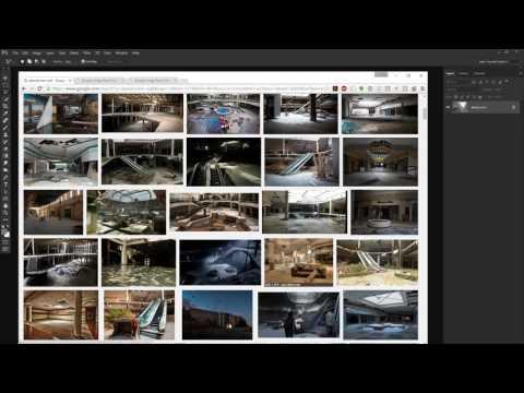 Maciej Kuciara creates video game fan art live. June 1, 2016