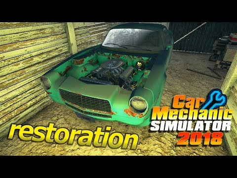 BARN FIND CAR RESTORATION | Finding The Project | Car Mechanic Simulator 2018