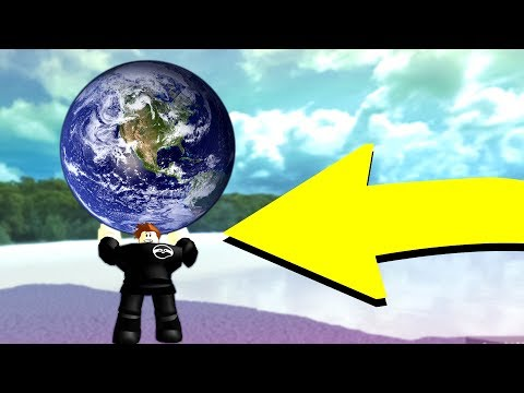 GET STRONG AND PICK UP THE EARTH! (Roblox)