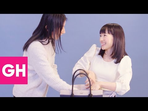 Marie Kondo Shows How to Organize a Purse | GH