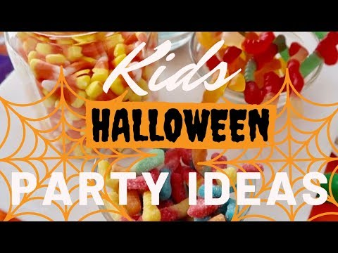 KIDS HALLOWEEN PARTY IDEAS | AFFORDABLE PARTY ACTIVITIES | DOLLAR TREE