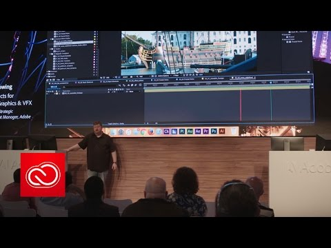 After Effects for Motion Graphics & VFX (NAB Show 2017) | Adobe Creative Cloud