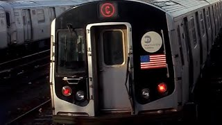 Conduite d'un train R143 C (Roblox [MTA NYCT] NYC Subway Lines)