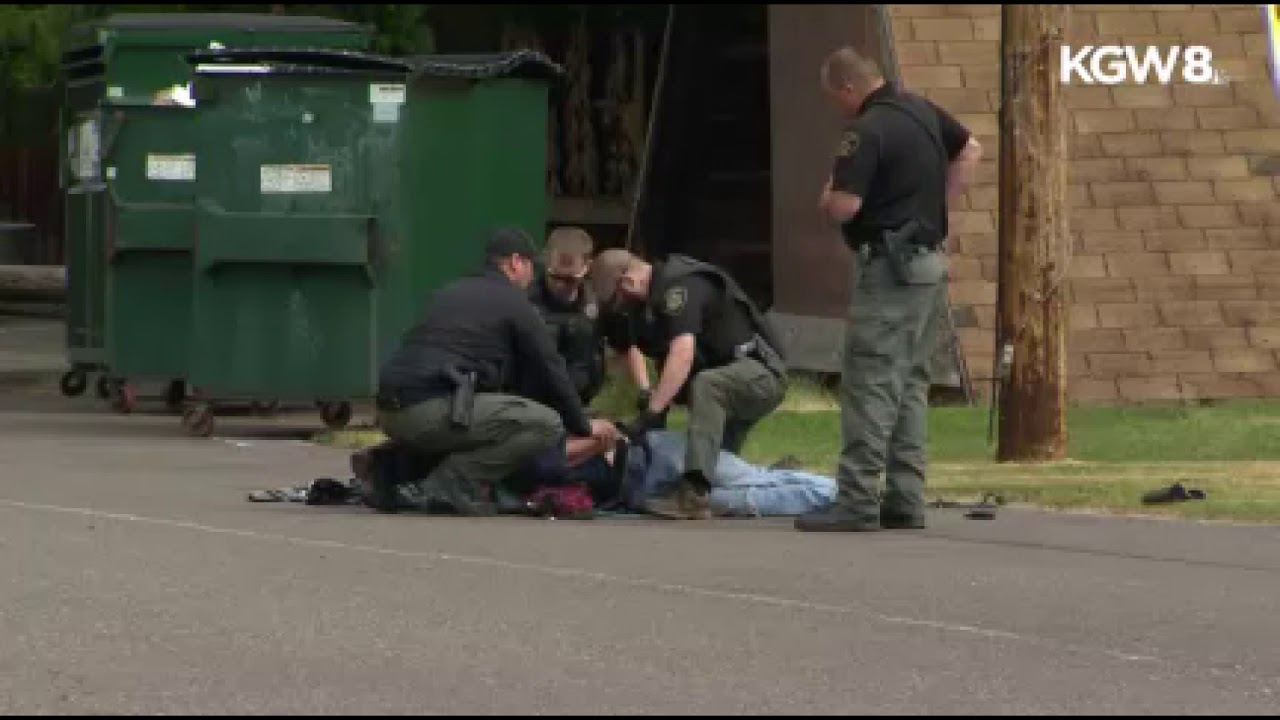 Raw: Deputy punches man repeatedly during Marion County arrest