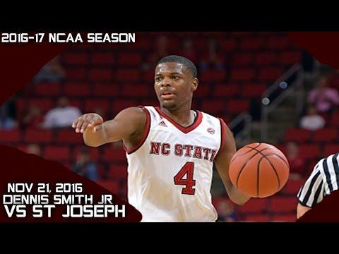Dennis Smith Jr Full Highlights vs St Joseph (11-21-16) 24 Pts 8 Asts