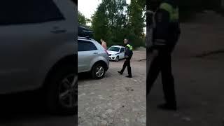Наглый полицейский