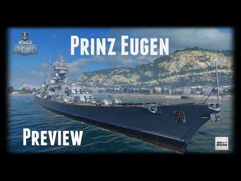 World of Warships Preview | Prinz Eugen | Ein neuer Premium-Kreuzer [ Gameplay - 1440p - German ]