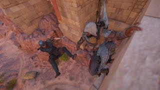 Assassin's Creed Origins: Stealth Gameplay & Base Clearing - Hidden Ones - Compilation Vol.15