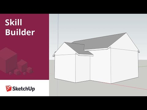 Constructability modeling with SketchUp: Roof modeling