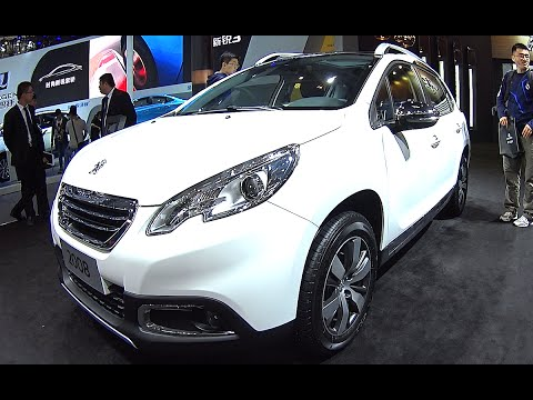 2016, 2017 New Peugeot 2008 Hits The Beijing Auto Show, Peugeot 2008 2016, 2017 model