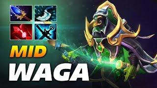 WAGA Mid Rubick | Dota 2 Pro Gameplay