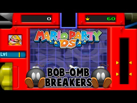 Mario Party DS - Puzzle Mode - Bob-omb Breakers [NDS]