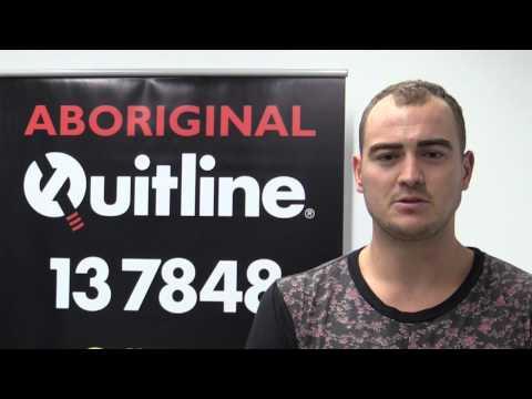 Meet Daniel from the Aboriginal Quitline