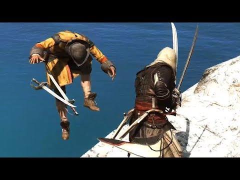 Assassin's Creed 4 Explorer Outfit Pistol Finishing Moves & Free Roam thumbnail