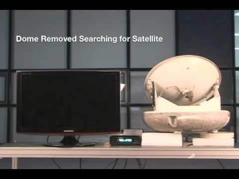 Intellian i4 Marine Satellite TV Antenna Survives Fire