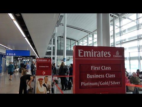 Emirates EK162 Business Class Dublin to Singapore part 1