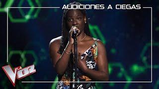 María Ibukule - H๐w do you sleep   Blind auditions   The Voice Antena 3 2021