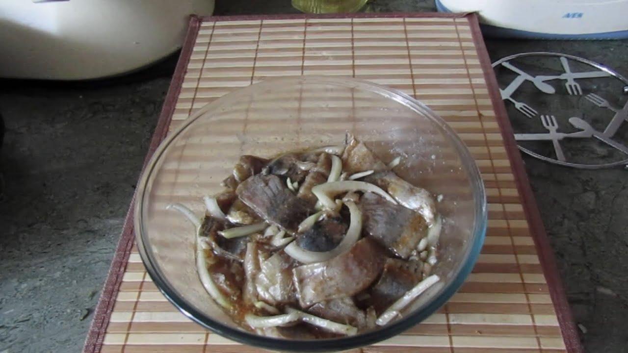 Корейская кухня: Хе из сельди