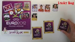 PANINI Sticker Album UEFA Euro  2012 new Paninialbum unboxing stickers UEFA Cup Polen Ukraine