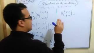 Algèbre S2 Opérations sur les matrices ( Eco + Info + SMPC + SMAI ) darija Marocaine