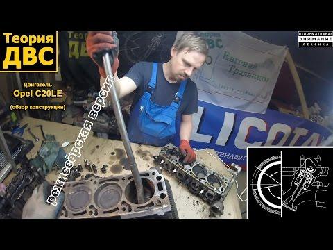 Фото к видео: Теория ДВС - Двигатель Opel С20NE обзор конструкции, (режиссёрская версия)
