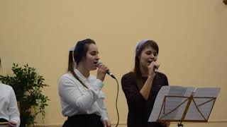 Христианская рождественская песня.Жемчуг звездный на бархате черного неба