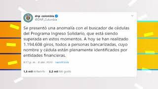 Denuncian presuntas anomalías en búsqueda de cédulas del Ingreso Solidario [Noticias] - Telemedellín