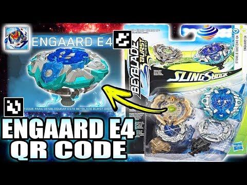 ENGAARD E4 QR CODE QUETZIKO Q4 QR CODE BEYBLADE BURST TURBO APP QR CODES