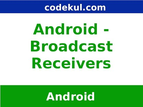 Android - Broadcast Reciever