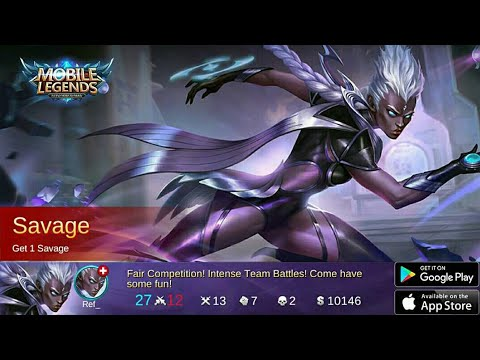 Karrie got PENTA KILL / SAVAGE - Mobile Legends