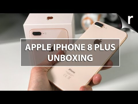 Apple iPhone 8 Plus Unboxing & Hands-on Review: Glossy giant