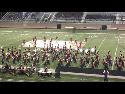 Brandeis Broncos Marching Band - 2016 Texas UIL Area H Marching Contest Finals