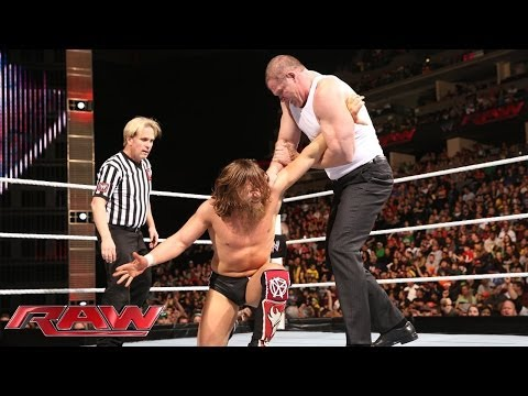 Daniel Bryan vs. Kane: Raw, Feb. 17, 2014