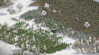 Cossacks 3 - 2v2v2v2 WINTER WAR | Multiplayer Gameplay