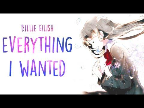 「Nightcore」→ Billie Eilish - Everything I Wanted (Lyrics)