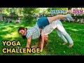YOGA CHALLENGE para dos con Silvia Sánchez. Yoga Poses.